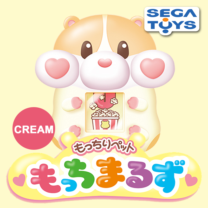 "[Pre-Order] Motchimaruzu ""Cream"" Sega Toys Japan [SEP/2018] Squishy x Digital Pet Toy"
