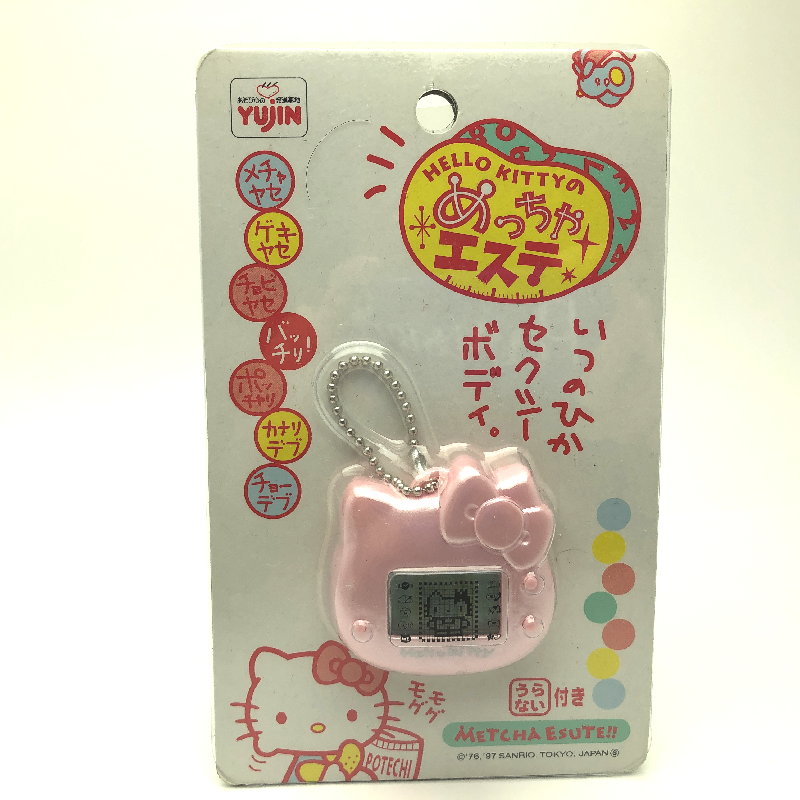 Sanrio Hello Kitty Sticky Notes With Mini Plastic Case Cup