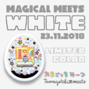 [NEW] Tamagotchi Meets Magical Meets Ver. White Bandai Meets Station Limited Color [23 NOV 2018]