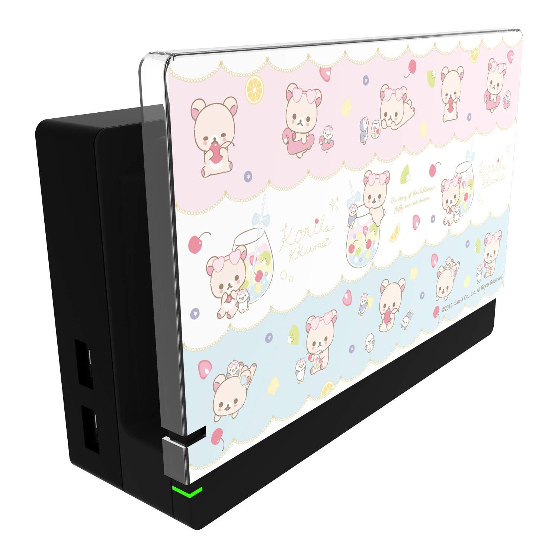 New Nintendo Switch Character Dock Cover Rilakkuma Korilakkuma