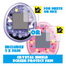 [NEW] Tamagotchi meets/ m!x Crystal Shield Screen Protect Film x1 Pdakobo Japan