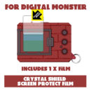 [NEW] Digital Monster Series Crystal Shield Screen Protect Film x1 Pdakobo Japan